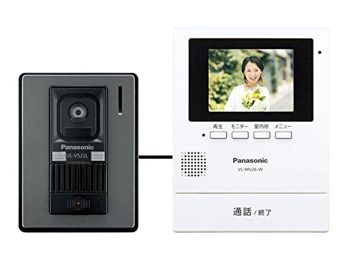 パナソニック(Panasonic) テレビドアホン 電源コード式 ホワイト VL-SV26KL-W