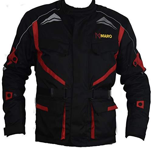 chaqueta moto cordura con refuerzos en codos hombros y espalda y forro polar...