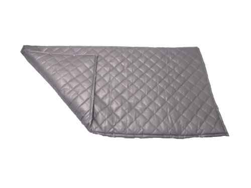 Singer Safety SC124 Double Faced Quilted Fiberglass Panel with Grommets, 4' Width x 4' Height x 2'...