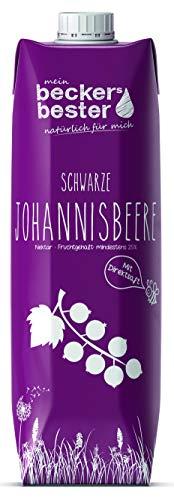 beckers bester Schwarzer Johannisbeer-Nektar Tetrapak EW, Johannisbeere, 1 ltr (6er Pack)