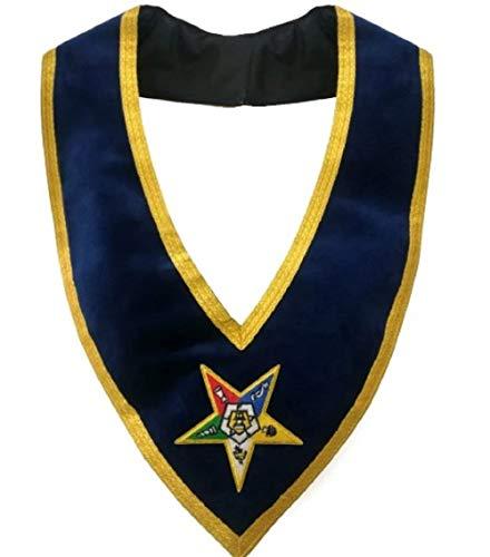 Regalia Lodge Associate Patron Order of The Eastern Star OES Collar
