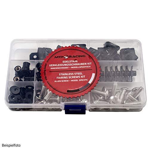Verkleidungsschrauben OEM Style passend für Honda CBR600RR PC37 03-06 Silber Style 2