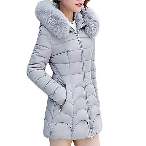 Winter Klassisch Daunenjacke Damen Warme Mantel Frauen Lange Dicke Pelzkragen Baumwolle Parka Slim Jacke FRAUIT Zipper Einfarbig Warm Jumper Top Outwear Bluse