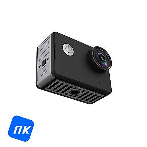 'NK ca3143 Action Camera 4 K HD-touchscreen (2, 170 ° lens, waterdicht 10 m zonder beschermhoes), zwart [Spaans versie]