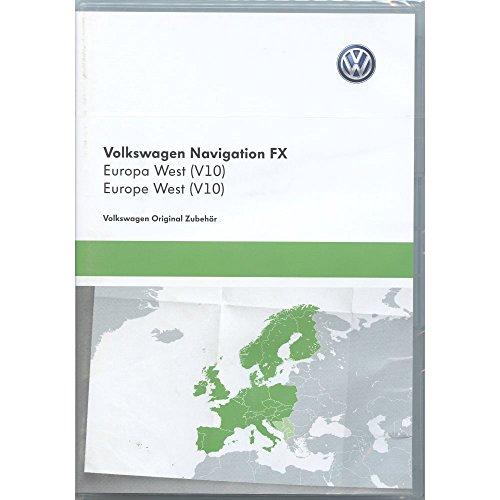 Volkswagen 3C8051884DD SD-Karte Navigation V10 Europa RNS 310 Navigationssystem FX Navi Software Original VW Update
