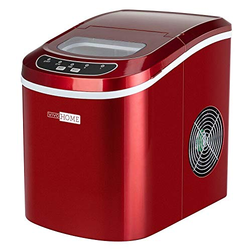 VIVOHOME Electric Portable Compact Ice Cube Maker Machine