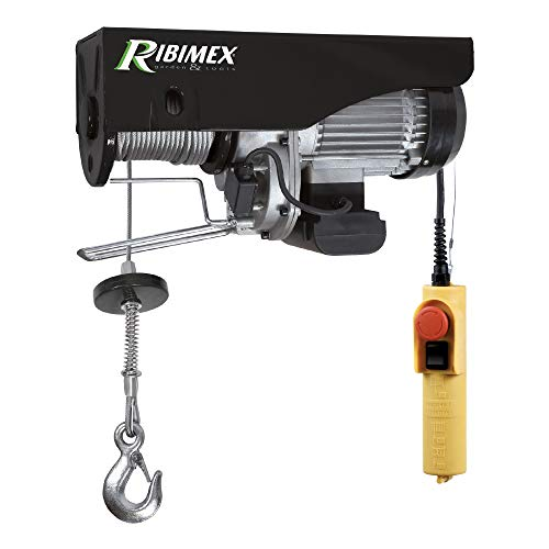 Ribimex PE300/600C/1 Paranco elettrico 300/600 kg, 1050 W, fune 18 m