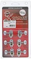 【国内正規輸入品】 GROVER グローバー ギター・ペグ V98C 3:3用6個セット クローム