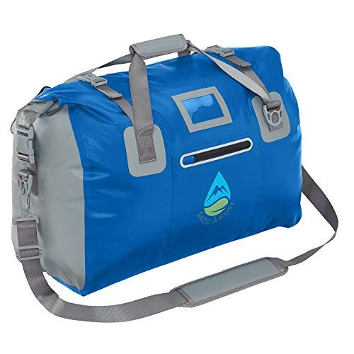 Skog Å Kust DuffelSåk Waterproof Duffle Bag   40L Navy Blue