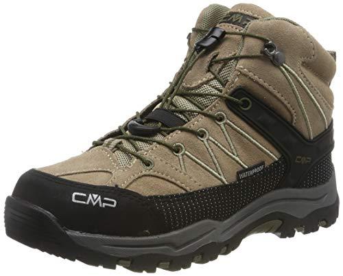 CMP Kids Rigel Mid Shoe Wp Trekking- & Wanderstiefel, Beige (Desert-Torba 04pd), 34 EU