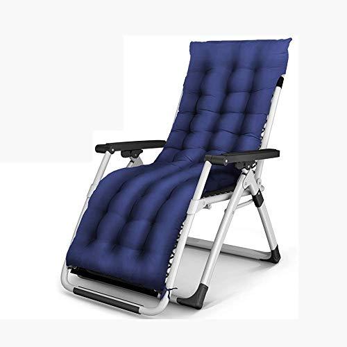 WSDSX Silla reclinable Plegable, sillón reclinable Plegable Multiusos de Gravedad Cero para Patio, terraza, Sol, Playa, Tumbona, Interior, Ocio, Siesta, Perezoso, salón (0-16)