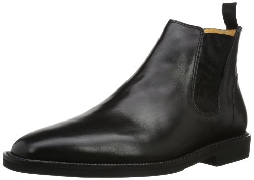 Mephisto Preston Supreme 7300 Black P5109335, Herren Chelsea Boots, Schwarz (Black Supreme 7300), EU 45 (UK 10) (US 10.5)