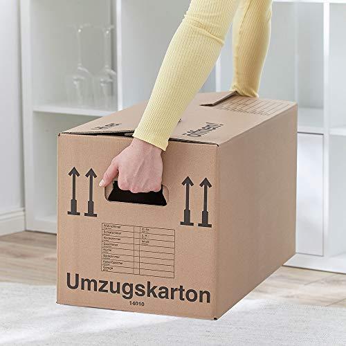 Umzugskartons 20 Stück Profi STABIL 2-wellig von BB-Verpackungen - 2
