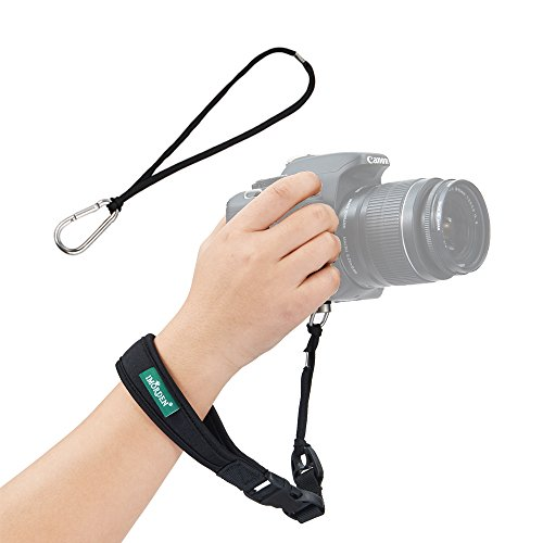 IMORDEN Camera Hand Strap Camera Wrist Strap DSLR Hand Strap(1/4'' Screw) and Safety Tether for Any DSLR Camera Sling, Comfortable Shoulder Strap Neck Strap