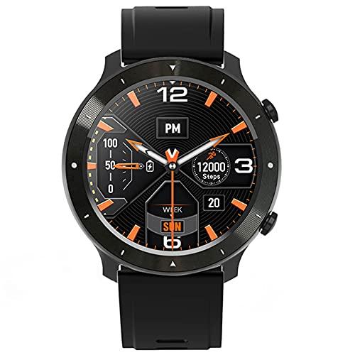 shjjyp Smartwatch Reloj Inteligente Impermeable Ip68 para Hombre Mujer NiñOs Pulsera De Actividad Inteligente con Monitor De SueñO PulsóMetro CronóMetros CaloríAs PodóMetro para Android iOS