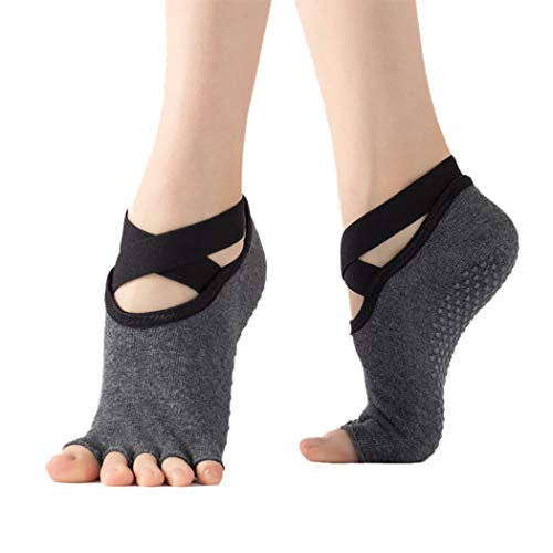 Fascigirl Calcetines De Yoga Para Mujer Calcetines Deportivos Antideslizantes Calcetines Creativos Cálidos...