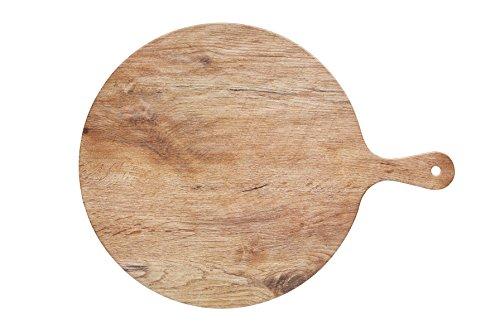 Kitchen Craft Servierbrett Holzeffekt 41.5x31.5cm, Melamin, Braun, 28 x 18 x 18 cm