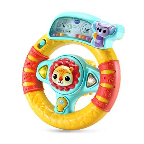 VTech- Volante Descubrimientos. Sonajero Activity Interactivo bebé +3 Meses, Color (3480-536622)
