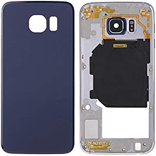 Battery cover JRC Full Housing Cover (Back Plate Housing Camera Lens Panel + Battery Back Cover) for Galaxy S6 / G920F(Gol...