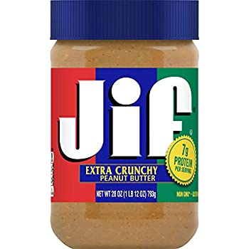 Jif Extra Crunchy Peanut Butter 28 Ounces  Pack of 10