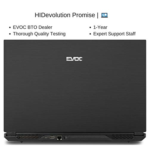 Compare HIDevolution EVOC NH772 (EV-NH77DDW-HID40) vs other laptops