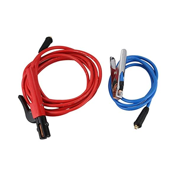 Summerwindy Accesorios para Máquinas de Soldar Cable de Electrodo de 200