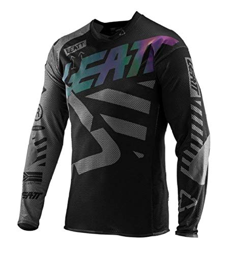 HappyL Motocross Jersey Downhill MTB Trikots Moto Motorrad Mountainbike Moto Jersey-T-Shirt Kleidung Mit Quick Dry Atmungsaktiv (Color : Gray, Size : XL)