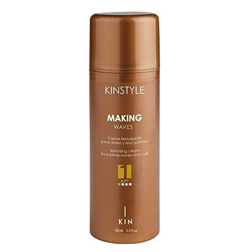 Kin Cosmetics - Crema texturizante ondulaciones sublimes Making Waves 150 ml – Kinstyle – Cabello – Filtros UV