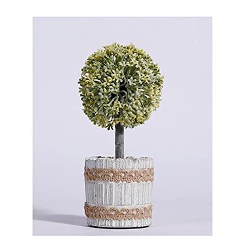 albero artificiale Pianta artificiale Desktop Bonsai fiore in vaso soggiorno camera da letto decorazione bagno decorazione pavimento floreale palla floreale floreale floreale Famiglia Alberi artificia