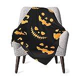 Guardería IUBBKI Recibiendo Mantas Halloween. Caída del otoño. Patrón transparente de vector lindo con calabazas. Manta de bebé suave y cálida manta de recepción para recién nacidos para cochecito de