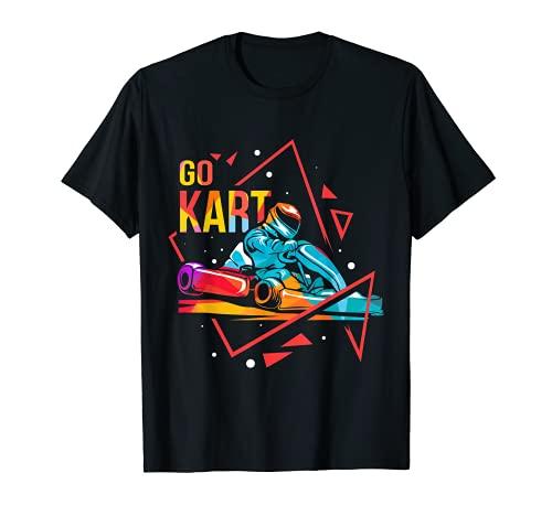 Cooles Kart Go-Kart Kartbahn Rennkart Kart Fahren T-Shirt