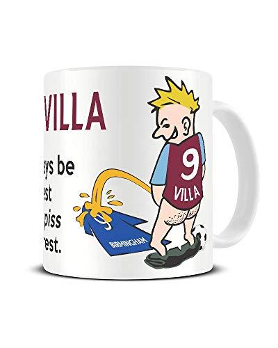 Villa Fan Weeing on Birmingham City Shirt Funny Mug