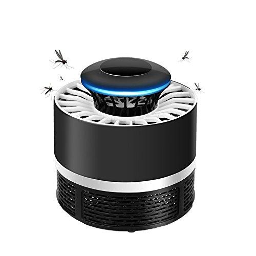 Anti Mosquito, TDW Lámpara Led Atrapa Mosquitos USB Mata Mosquitos Electrico (black)