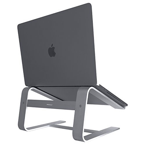 Macally ASTANDSG Aluminium Laptop Stand For Apple MacBook -Space Grey