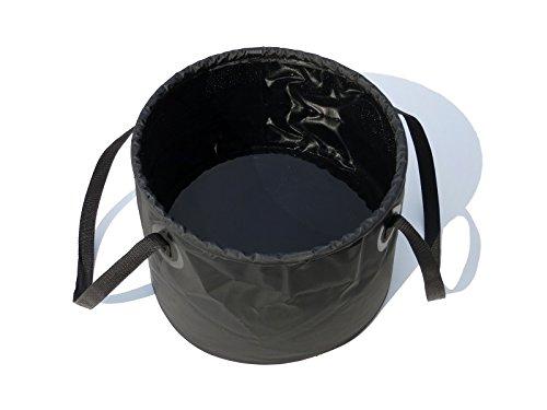 折りたたみ防水バケツ25L 大型BBQキャンプシンク ドラムバケツ