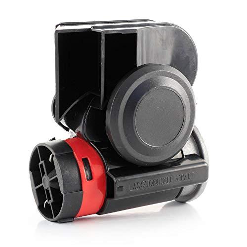 Bocina de aire negra de 12 V 139 db con compresor de...