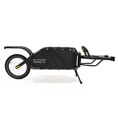 Great Price! Burley Coho XC, Single Wheel Suspension Cargo Bike Trailer