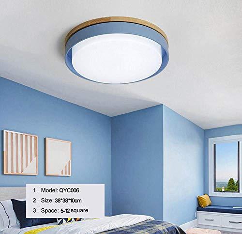 WFSDKN Plafondlamp, moderne plafondlamp, verlichting, woonkamer, slaapkamer, keuken, opbouw, inbouw, afstandsbediening