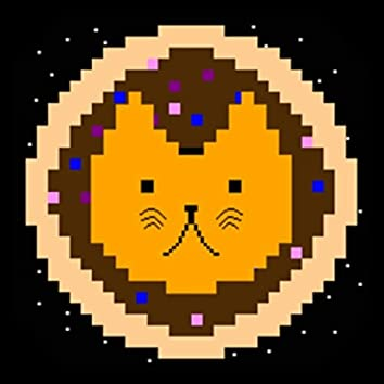 Cats On Donuts in Space