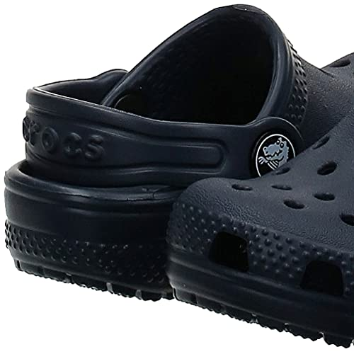 Crocs Unisex Kids' Classic Clog, Navy, C12 (29/30 EU)