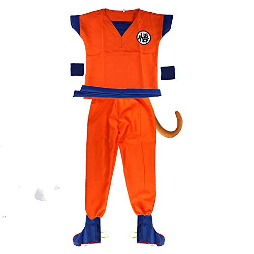 Adult Dragon Ball Costume Men's Goku Costume,S