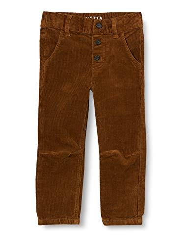 Sanetta Jungen Webhose Cognac Dunkelblaue Cordhose Kidswear, braun, 128