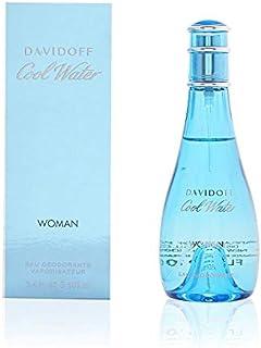 Zino Davidoff Cool Water Deodorant Spray for Women, 3.4 Ounce