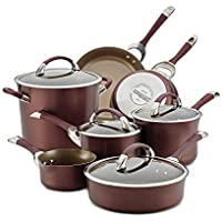 Circulon 11-Piece Symmetry Hard Anodized Nonstick Cookware Set
