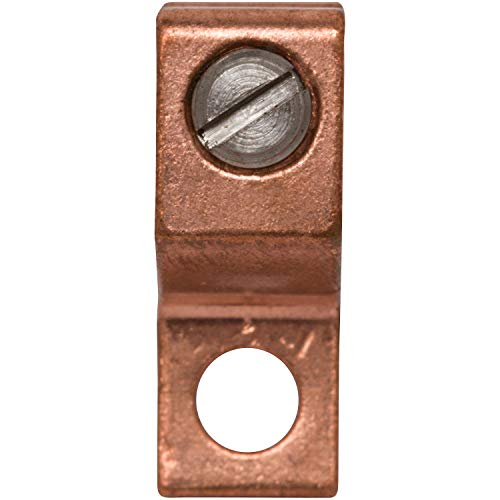 Morris Products Direct Burial Lay-In Connectors – For Copper Conductors, Grounding Swimming Pools, Spa Equipment…