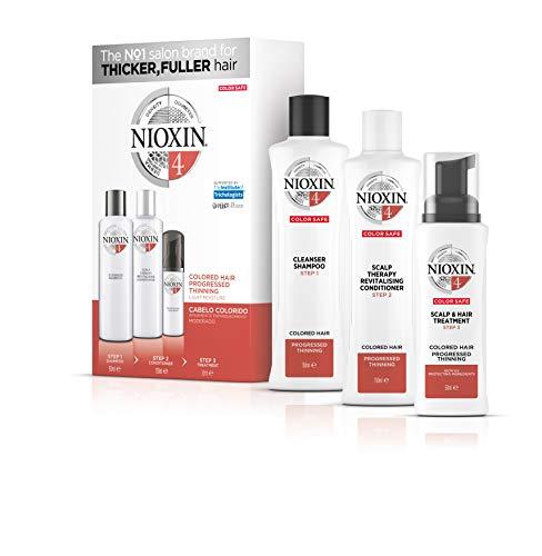 Trial kit Sistema 4 Shampoo 150ml, Condicionador 150ml e Leave-in 40ml, Nioxin, Pequeno