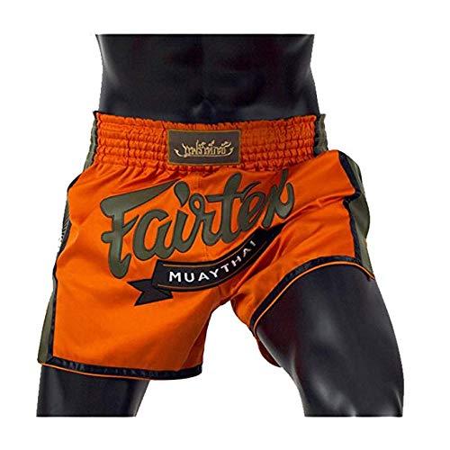 Fairtex New Muay Thai Boxing Shorts Slim Cut - Black, White, Red,...
