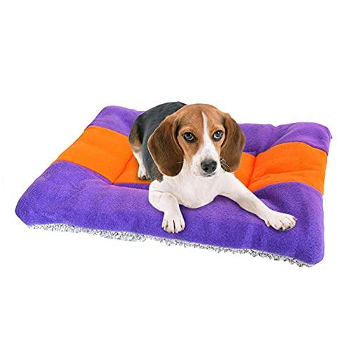 LXX Hundekistenauflagen Wendbares Hundebett für die Kiste Maschinenwaschbare Hundematten zum Schlafen Langlebige Haustiermatratze für kleine mittelgroße Hunde und Katzen