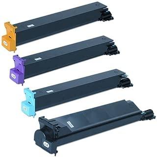 Konica Minolta MagiColor 7450 II Toner Cartridge Set (OEM) Black. Cyan. Magenta. Yellow