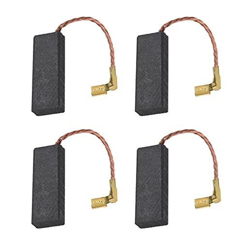 2 pares de escobillas de carbón para cortacésped compatibles con Flymo Compact 330 FLYMO 360 380 McCulloch 2200